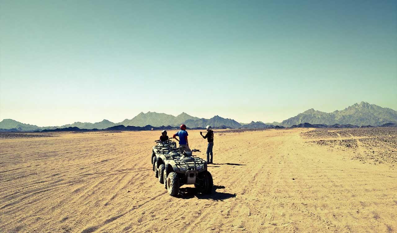 Safari en Quad por el desierto desde Hurgada