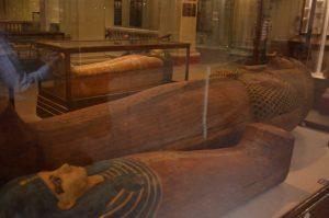 visita a la momia en el museo egipcio en el cairo