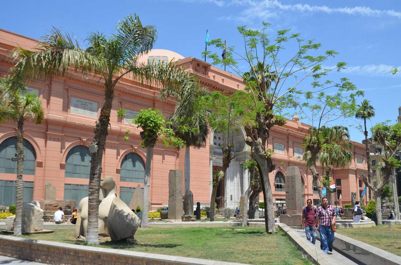 visita al museo egipcio en el cairo